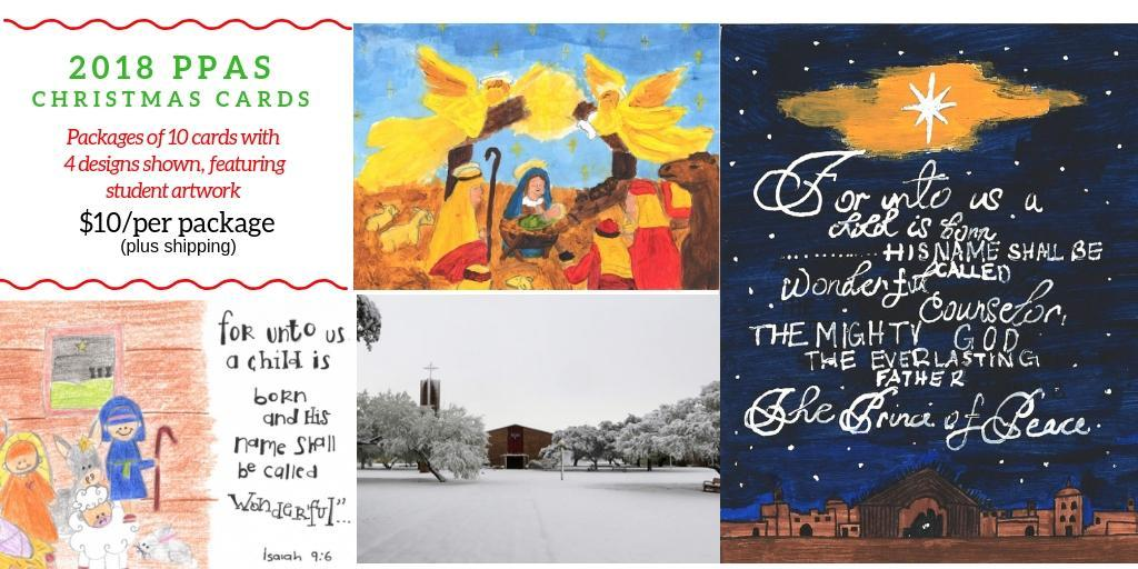Christmas Cards – Support Pan Am – Presbyterian Pan American School