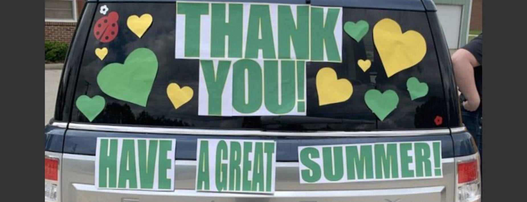 Thank you have a great summer