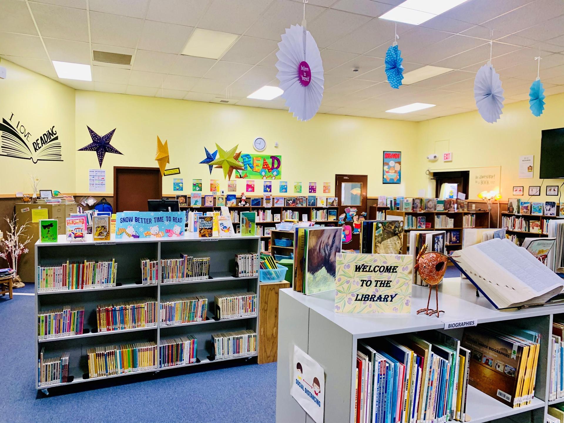 Winans school library