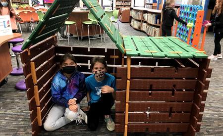 we built a log cabin