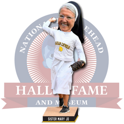 Sr. Mary Jo Sobieck Catholic Bobblehead