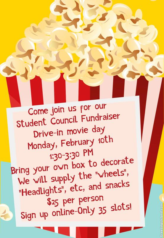 Student Council Fundraiser
