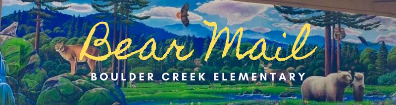 Graphic:  Bear Mail Logo