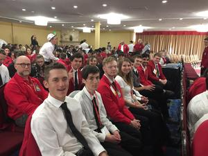 Students at the SkillsUSA State Conference.
