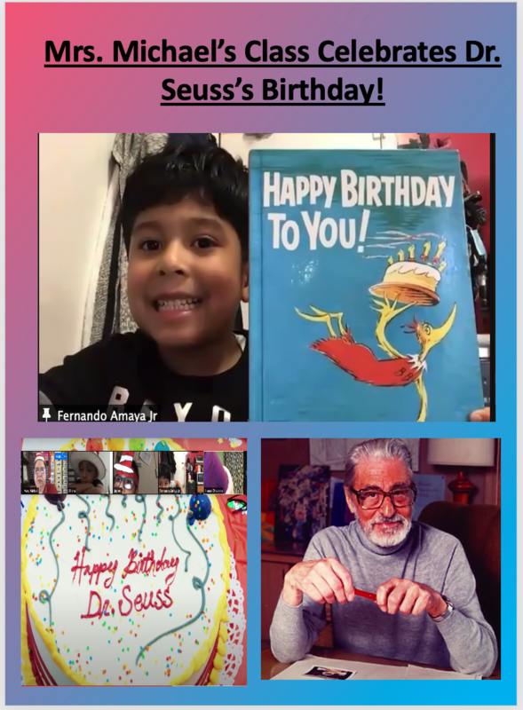 Happy birthday Dr. Seuss collage