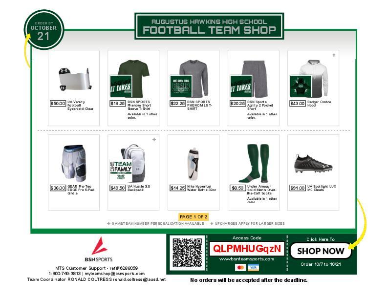 Hawkins Gear Now For Sale!! Featured Photo
