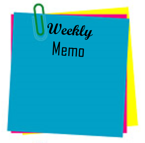 Principal's Weekly Memo for June 3-June 7 2019 Thumbnail Image
