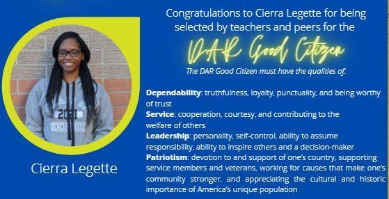 DAR Good Citizen Award Featured Photo