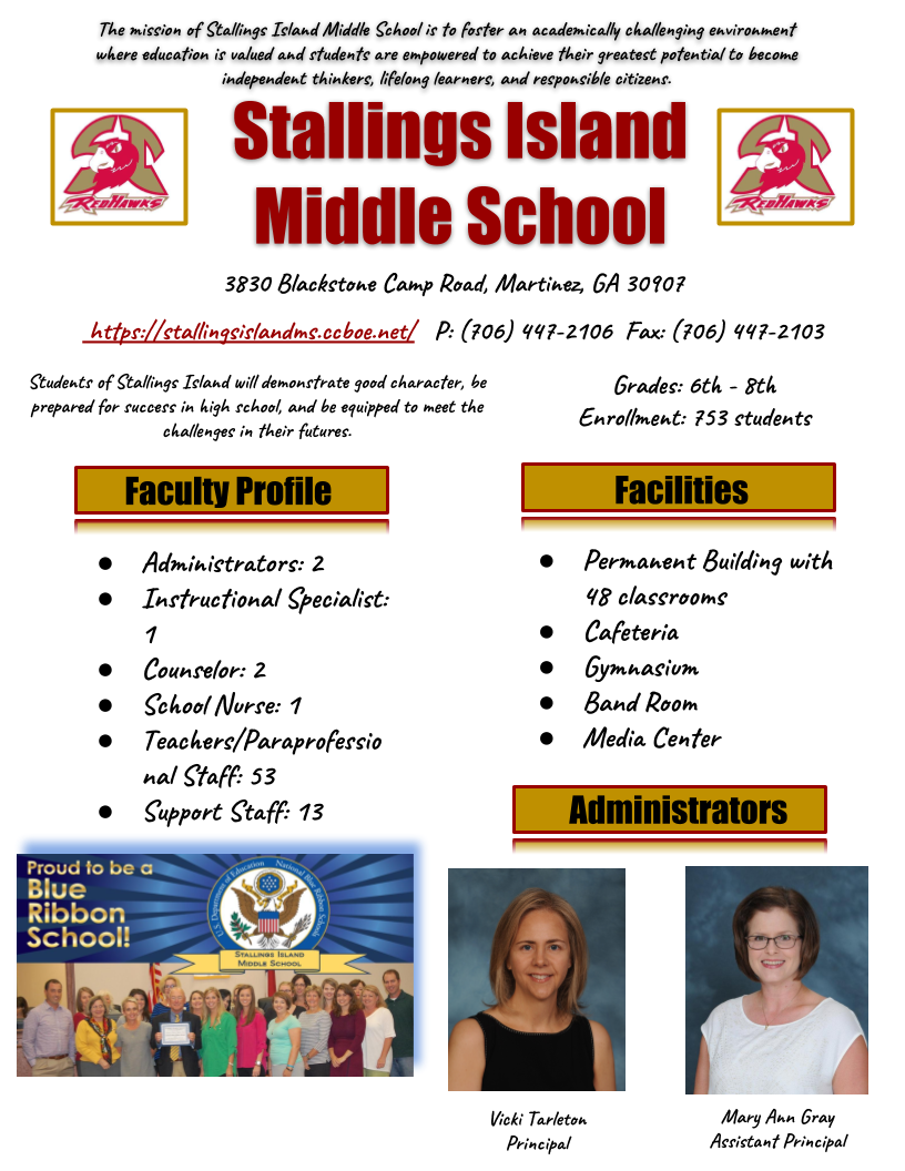 school profile page 1