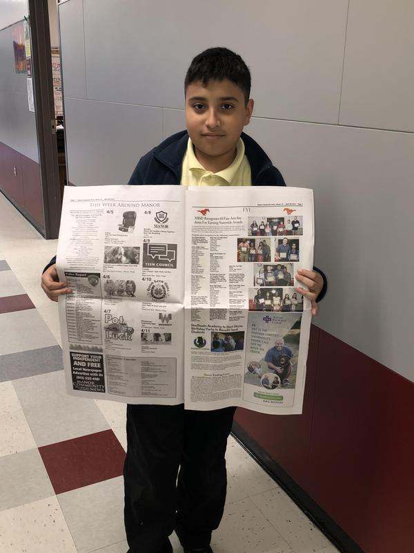 MMS Student gets published! Thumbnail Image