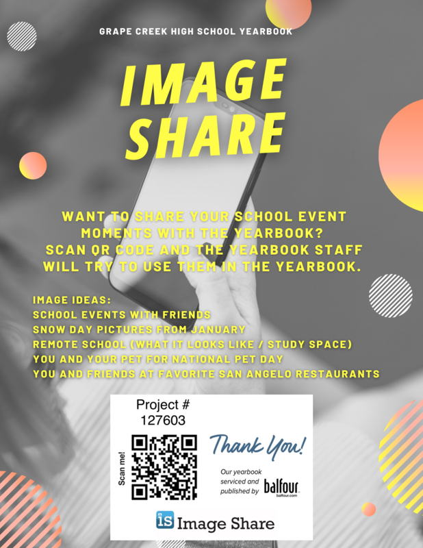 Yearbook Event Pictures Needed