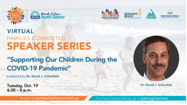 South Bay Families Connected Speaker Series returns! Thumbnail Image