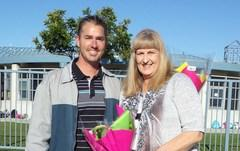 Mr. Stark and Mrs. Rose 2017 employees of the year!