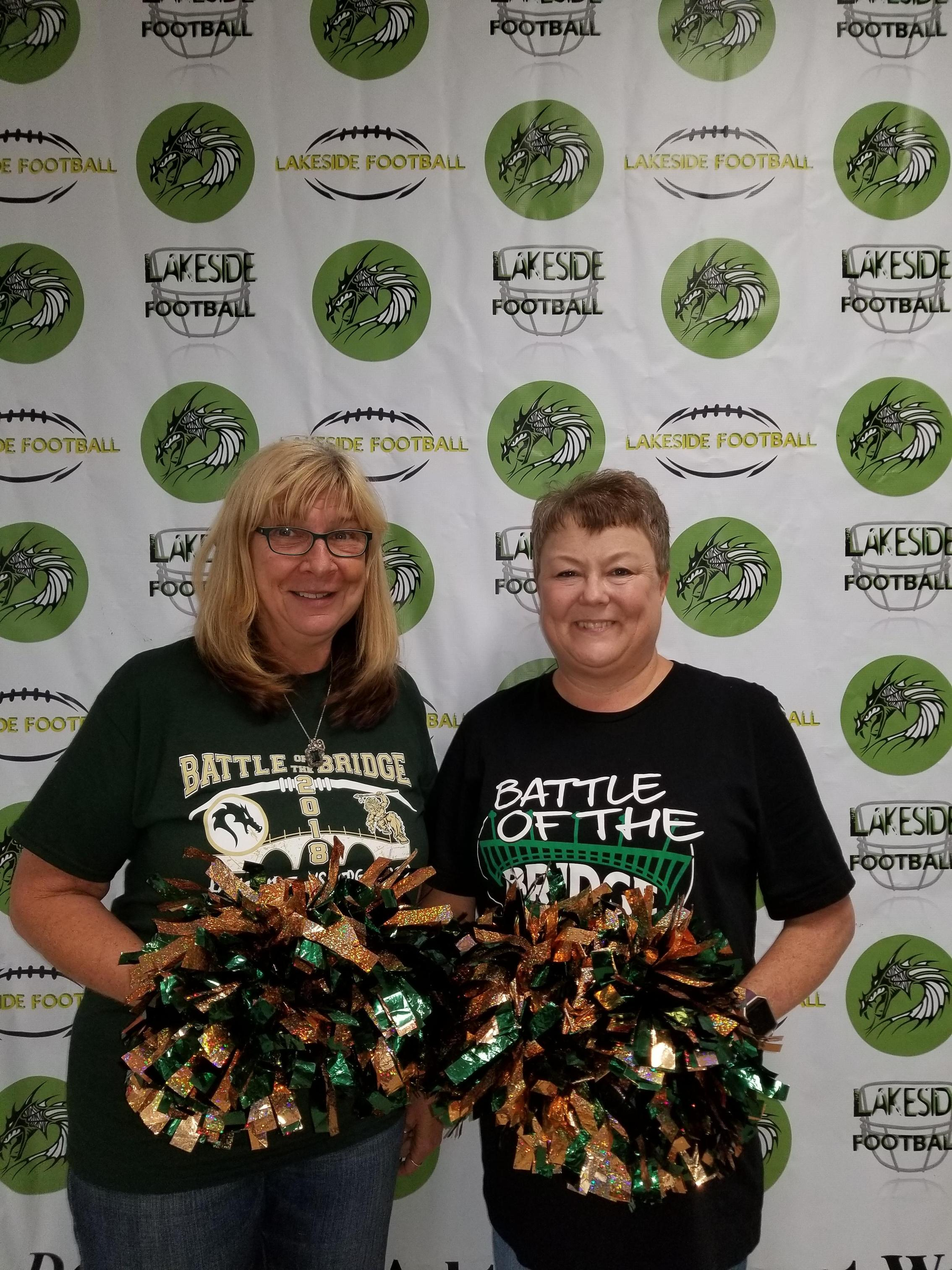 Pamela Peck, Director and Betty Osborne, Admin Assistant