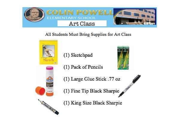 art class list/link