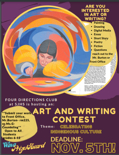 Four Directions Art & Writing Contest