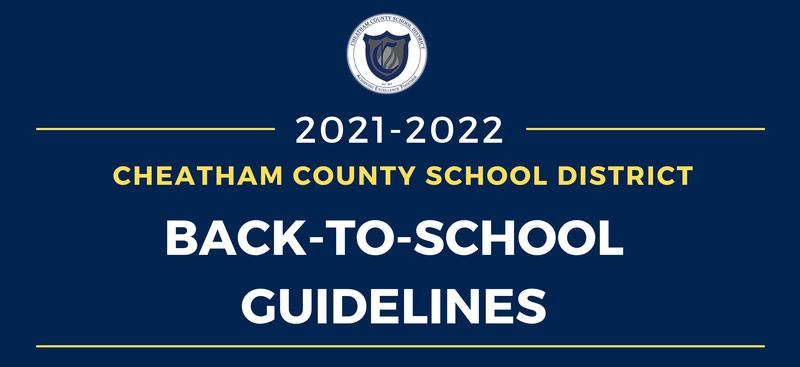 2021-2022 back-to-school guidelines
