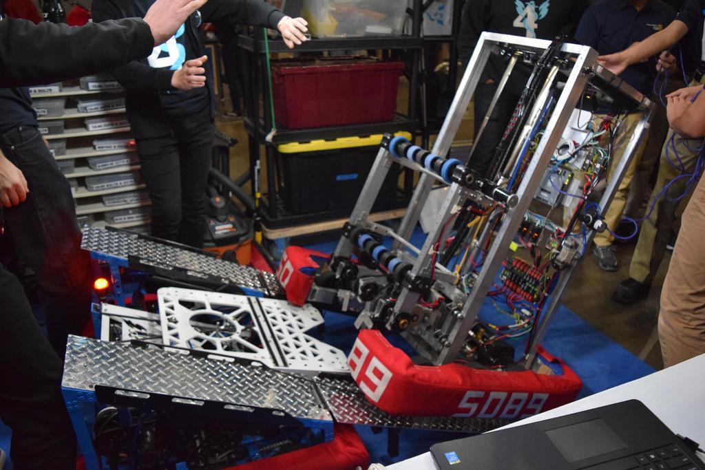 5089 testing ramp in pit