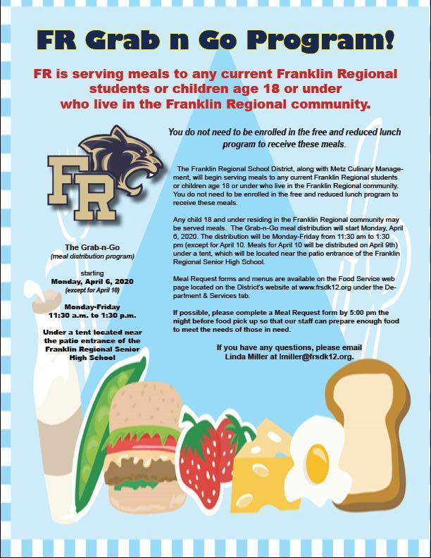 Food Distribution Flyer