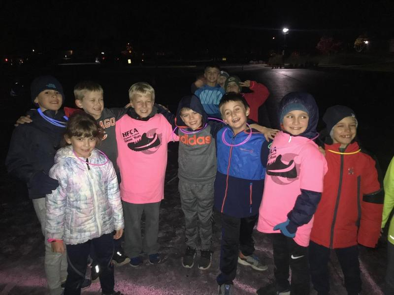 HFCA's Student Council's Glow Run Was a Huge Success! Featured Photo