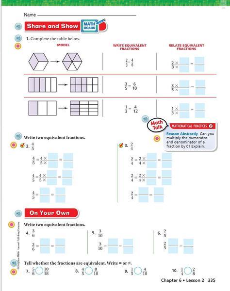 p. 335 Generate Equivalent Fractions.JPG