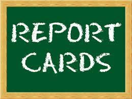 *~*Report Cards Week of Jan. 11-15*~* Featured Photo