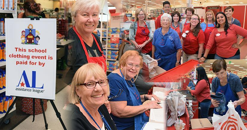 Operation School Bell, 2019 program volunteers from the Assistance League of Temecula.