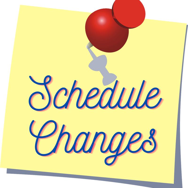 schedule change form