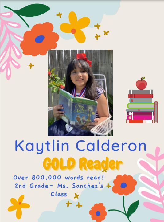 Kaytlin Calderon- AR GOLD Reader Featured Photo
