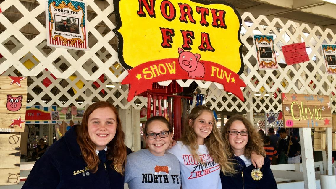 North High School FFA students