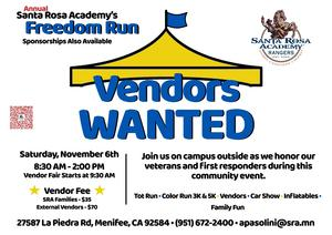 Vendors Wanted Flyer