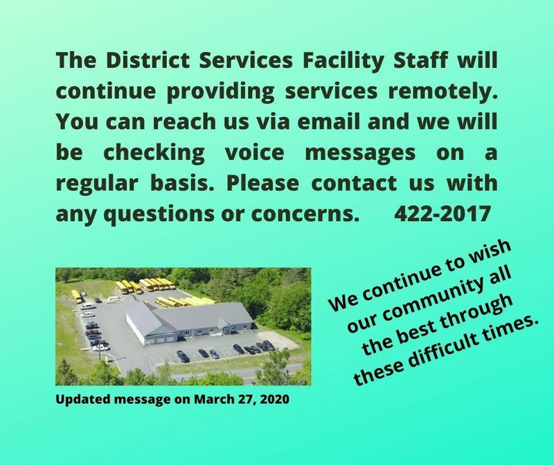 Update on the District Services Facility Featured Photo