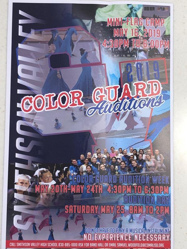 SVHS color guard