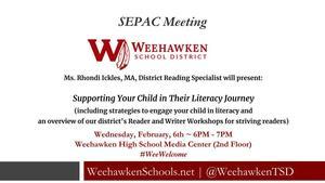 SEPAC Meeting 1-22-19