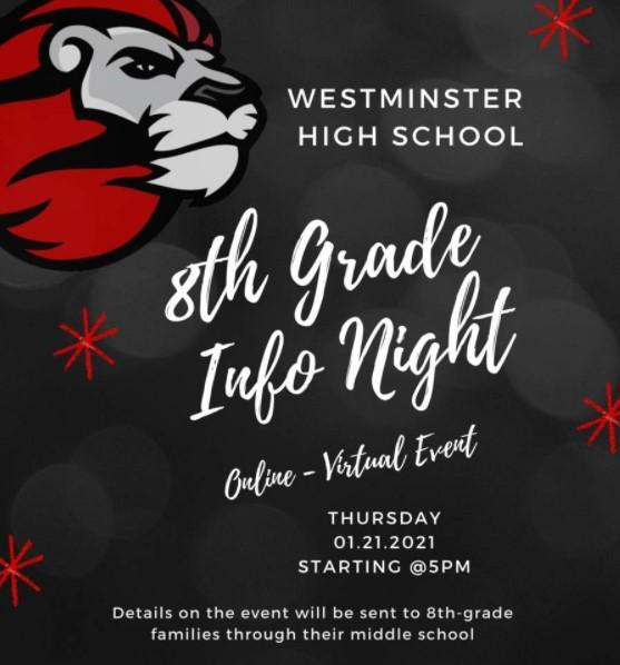 WHS New Student Info Night