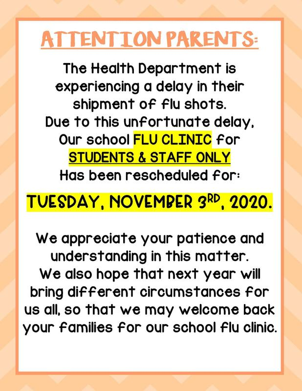 SPES Flu Clinic Rescheduled Thumbnail Image