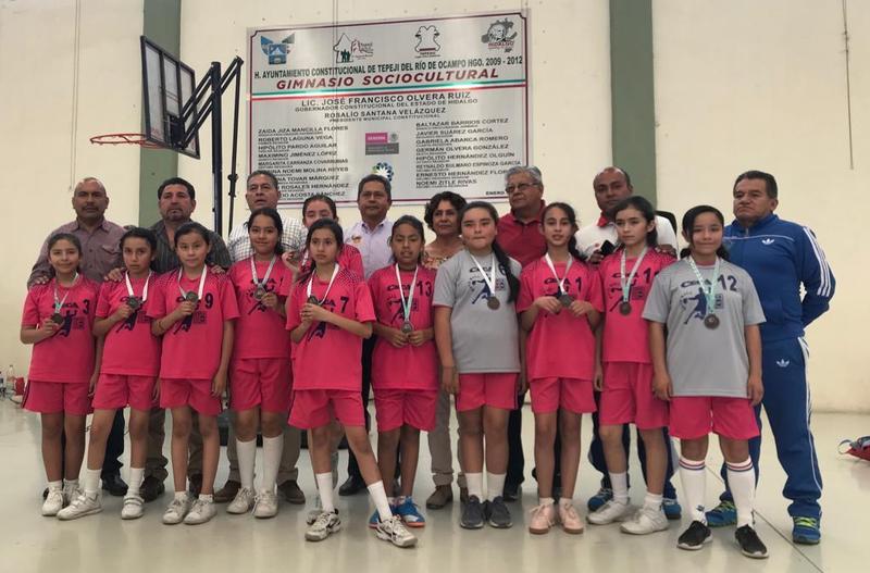 3er. Lugar  Estatal en la Disciplina de Balón Mano en los Juegos Deportivos Escolares de la Educación Básica 2018-2019 Featured Photo