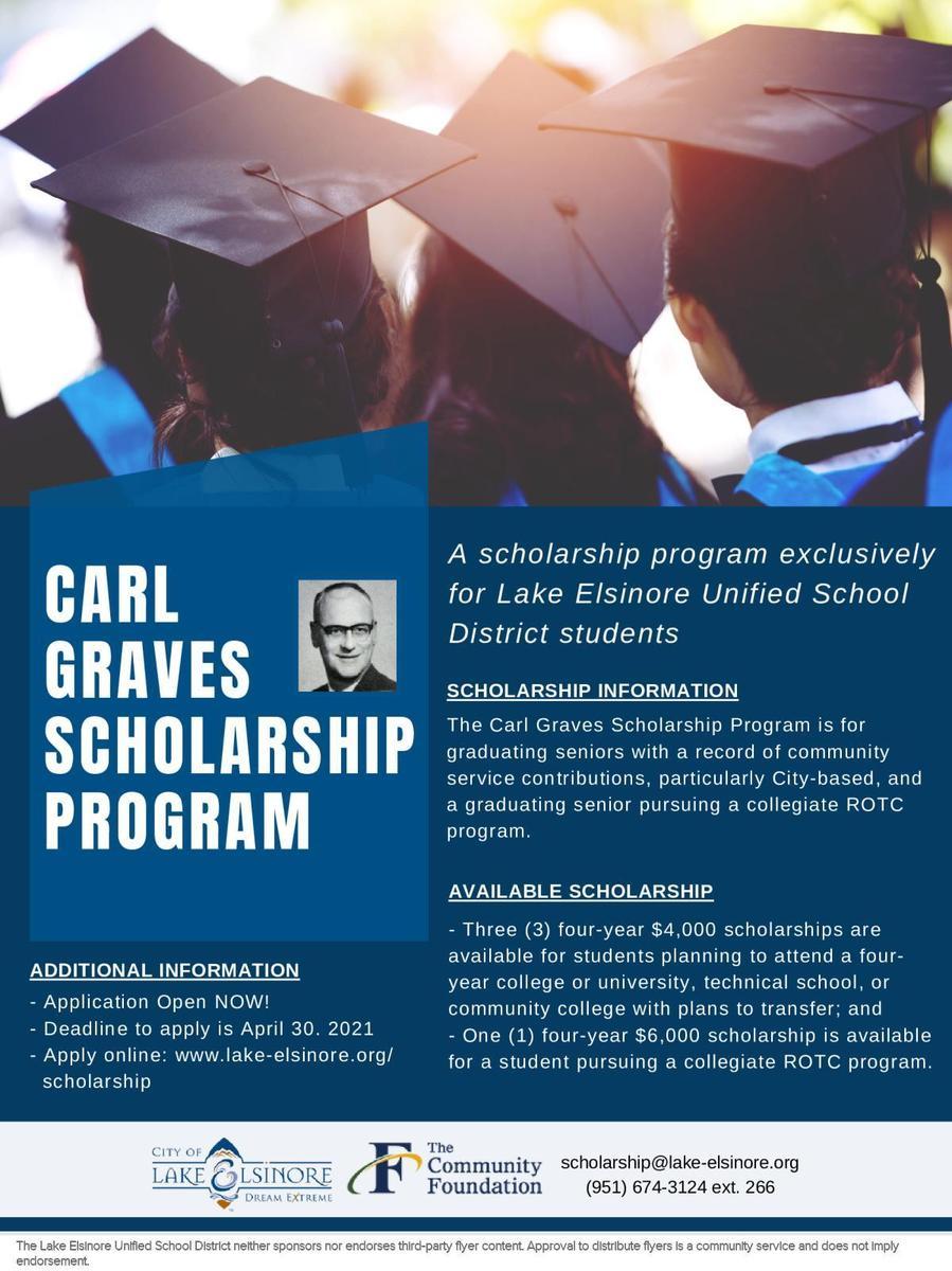 Carl Graves Scholarship