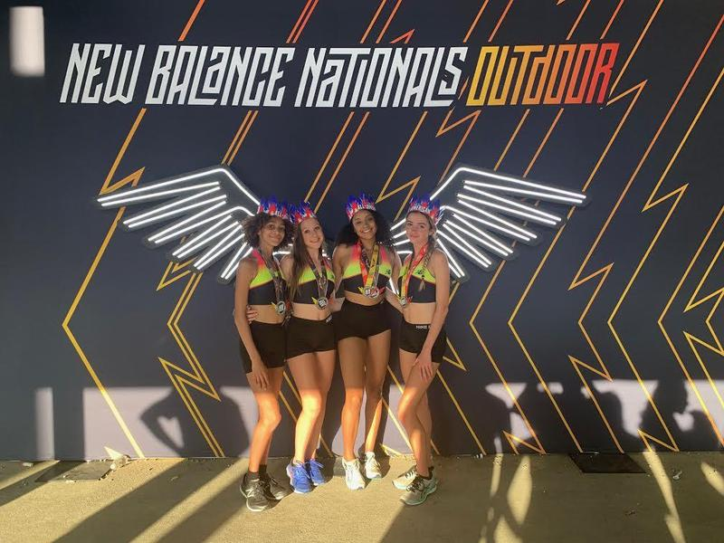Track Team Competes at New Balance Nationals Featured Photo