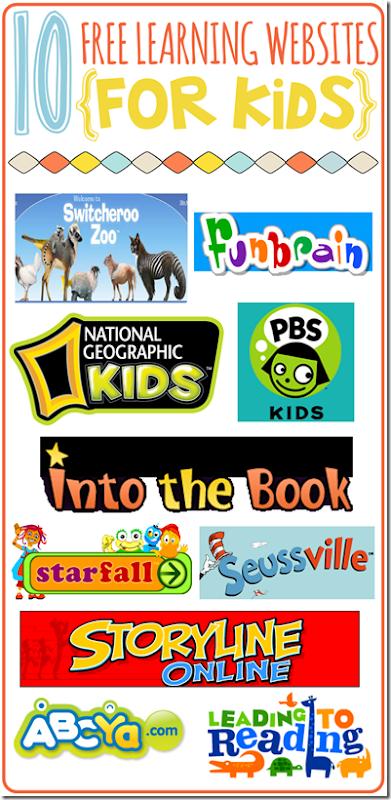 10 Free Websites For Kids