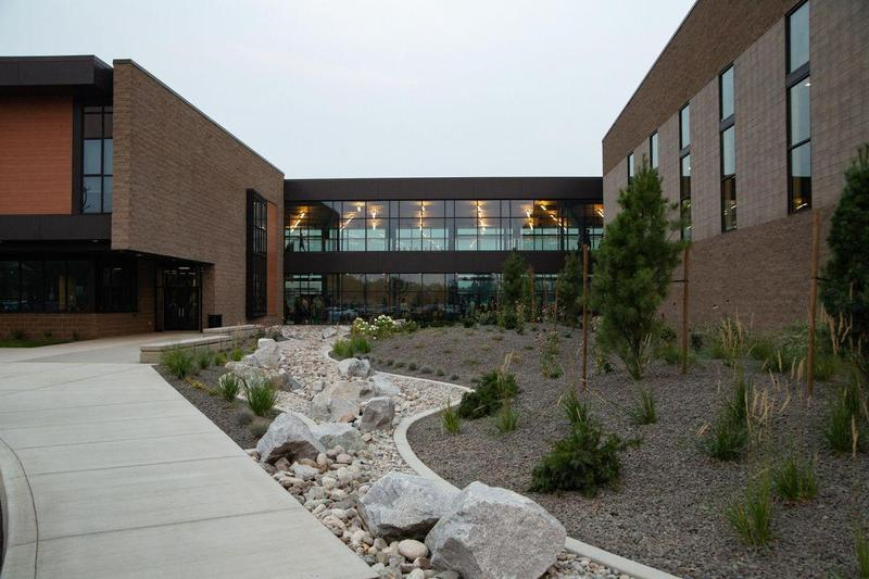 North Pines front entrance