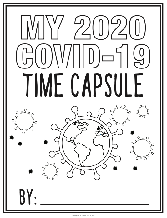 First page of the time capsule