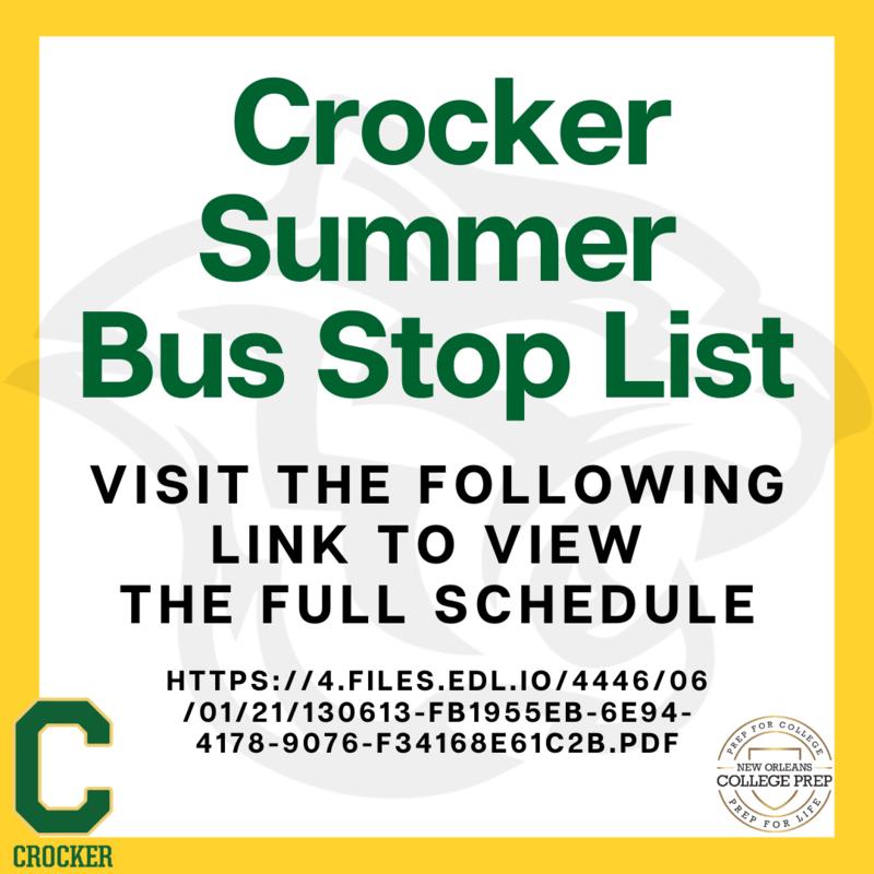 Crocker Summer Bus Stop List Featured Photo