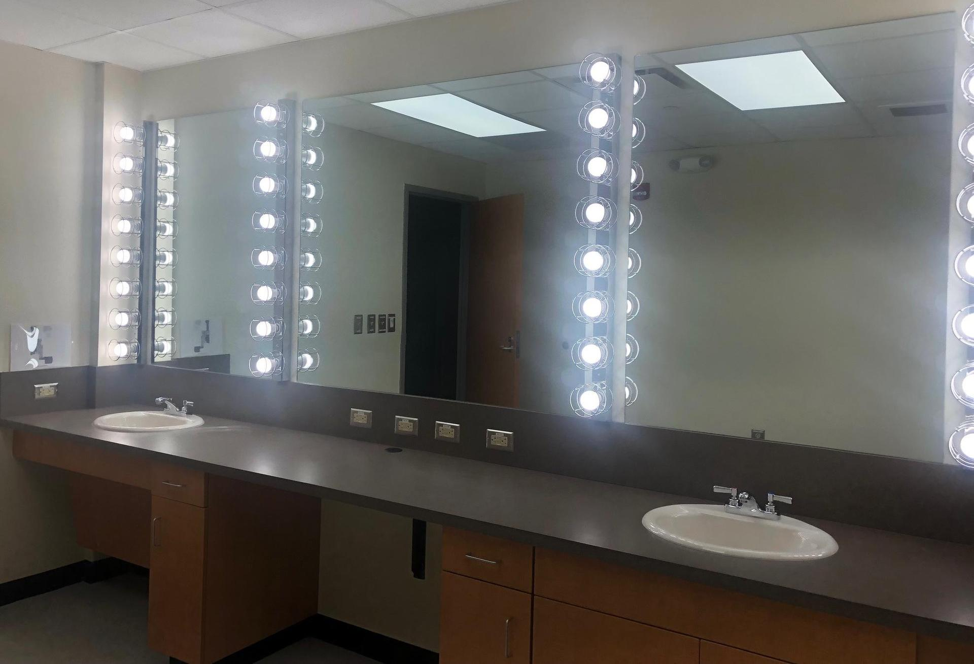 Brookland-Cayce High School Renovated Auditorium Dressing Room