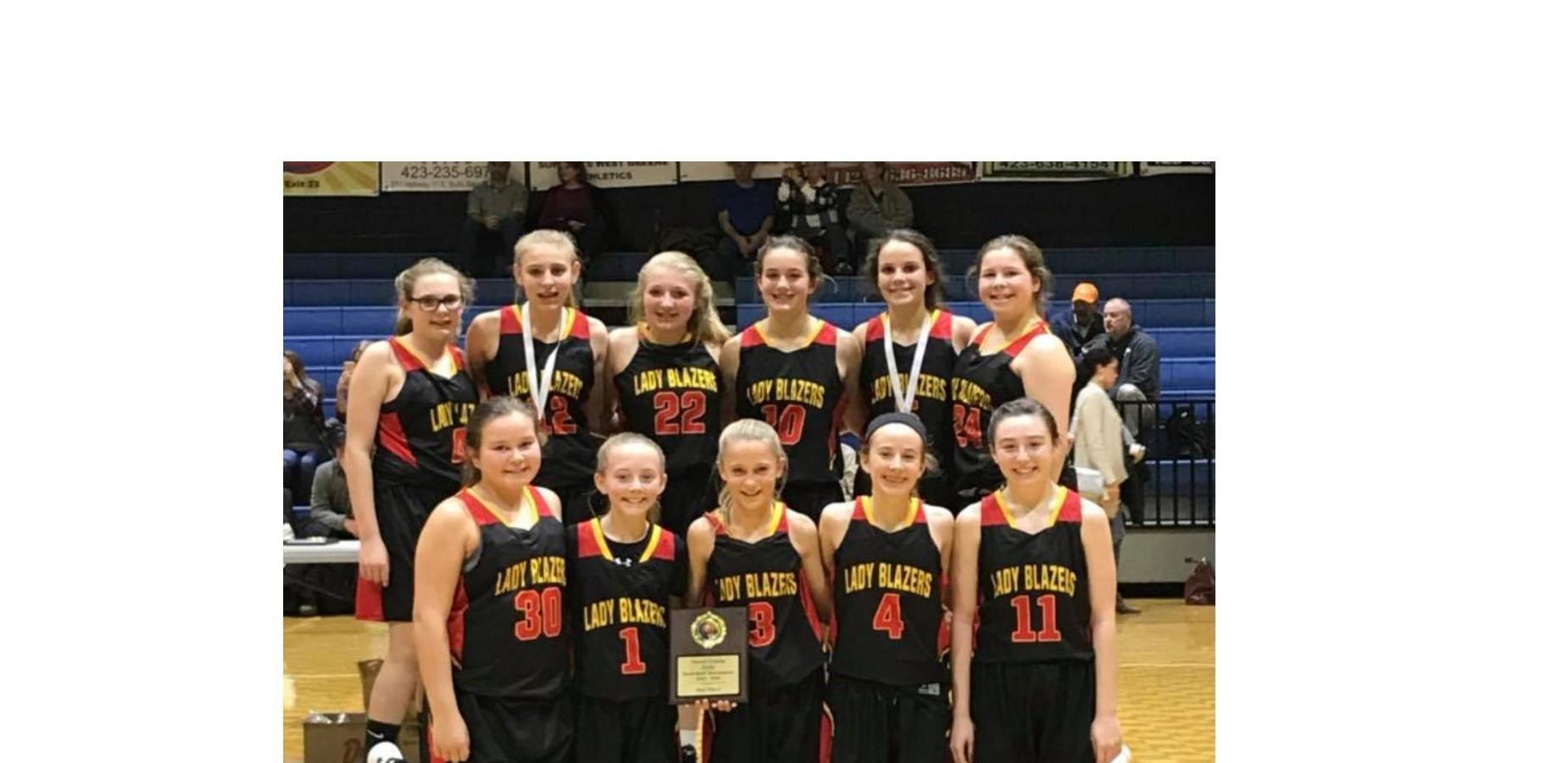 Photo of Nolachuckey girls basketball team