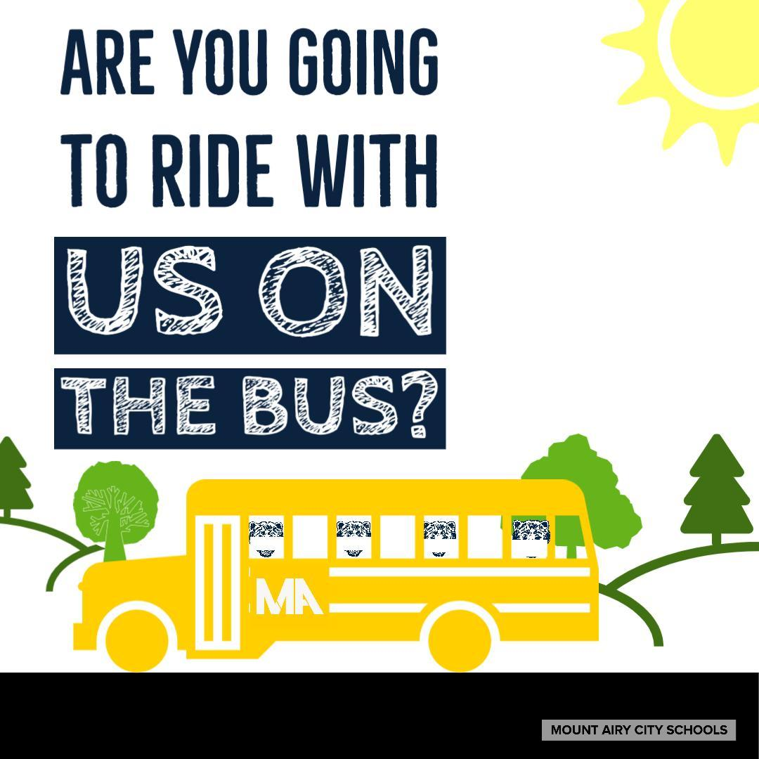 ride with us on the bus