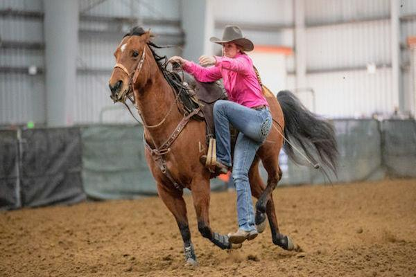 Senior Maggie Usher High School Rodeo State Champ Featured Photo