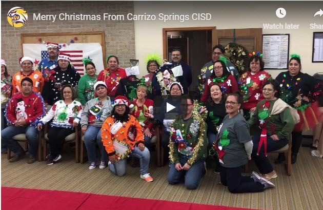 Merry Christmas from Carrizo Springs CISD Featured Photo