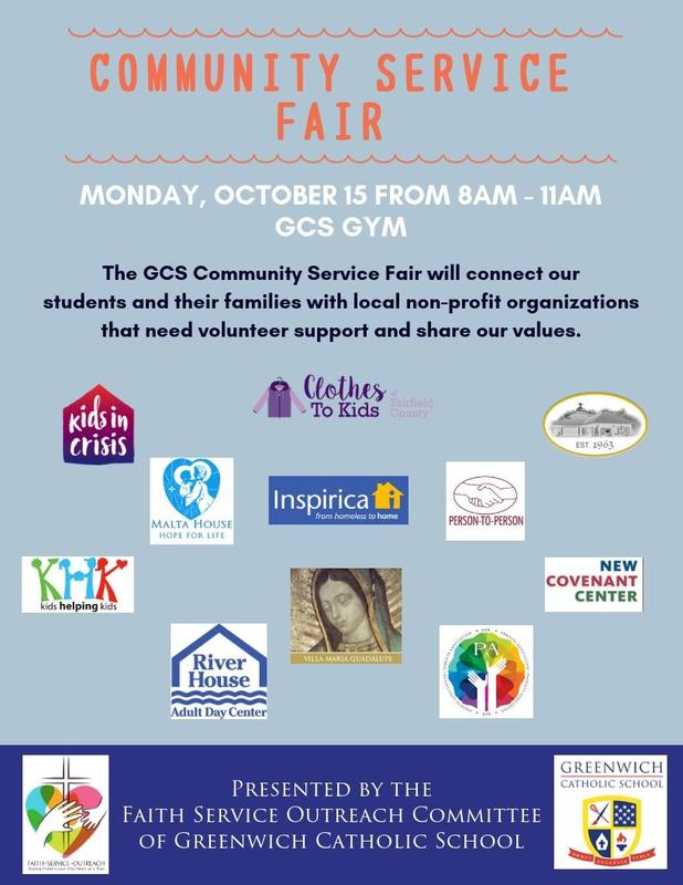 GCS Community Service Fair on Monday Thumbnail Image
