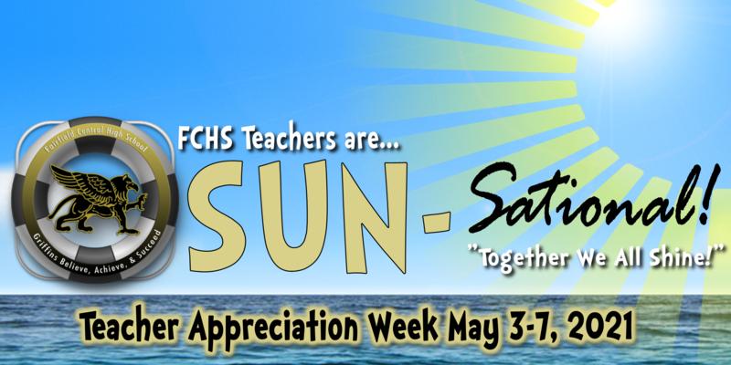 FCHS Teachers are sun-sational!